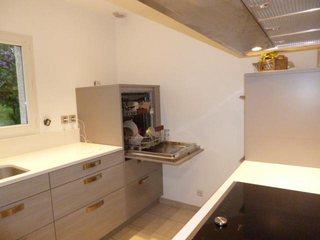 Lave vaisselle en hauteur cuisine essentiel cuisiniste - Hauteur lave vaisselle sous plan de travail ...
